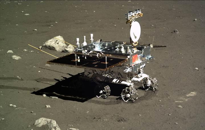 Çin'in Ay'daki uzay aracı Yutu yeni bir rekora imza attı