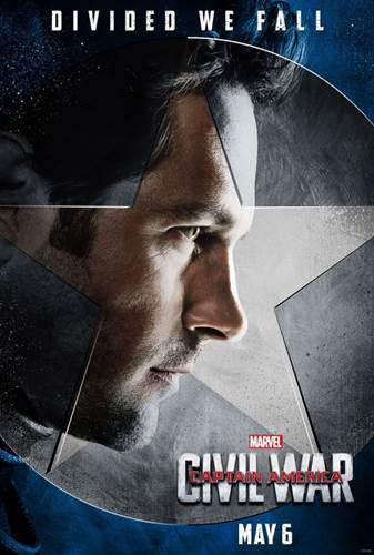 Kaptan Amerika: İç Savaş'tan yeni posterler