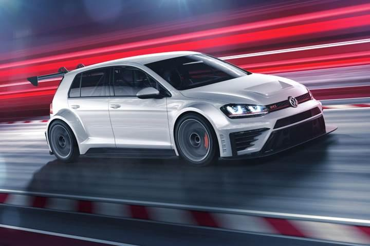 Volkswagen yeni yarış otomobili Golf GTI TCR'ı duyurdu