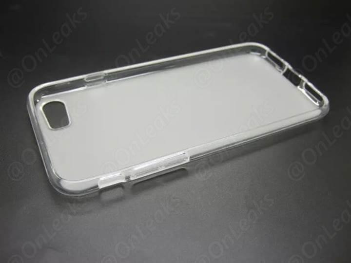 iPhone 7'ye ait olduğu iddia edilen bir kılıf internete sızdırıldı