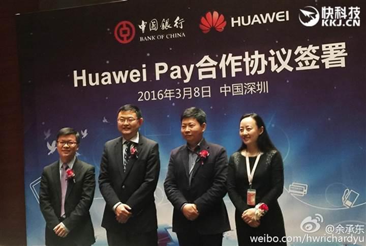 Huawei Pay ödeme sistemi faaliyete geçiyor