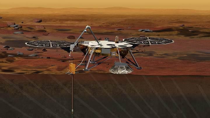 NASA'nın yeni Mars gözlem aracı InSight 2018'e ertelendi
