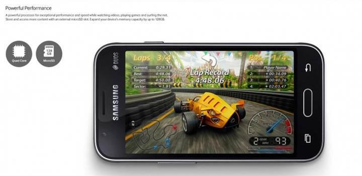 Samsung mütevazı akıllı telefonu Galaxy J1 Mini'yi duyurdu