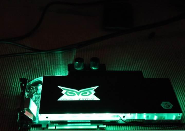 Asus, sıvı soğutmalı GeForce GTX 980 Ti STRIX Gaming Ice ekran kartını duyurdu