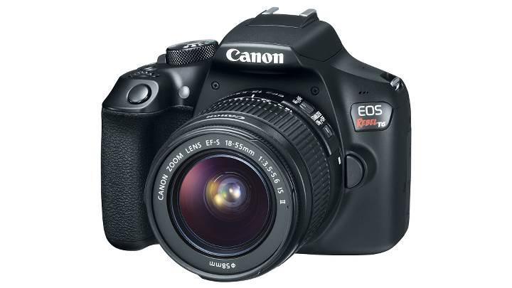 Canon'dan giriş seviyesine EOS Rebel T6