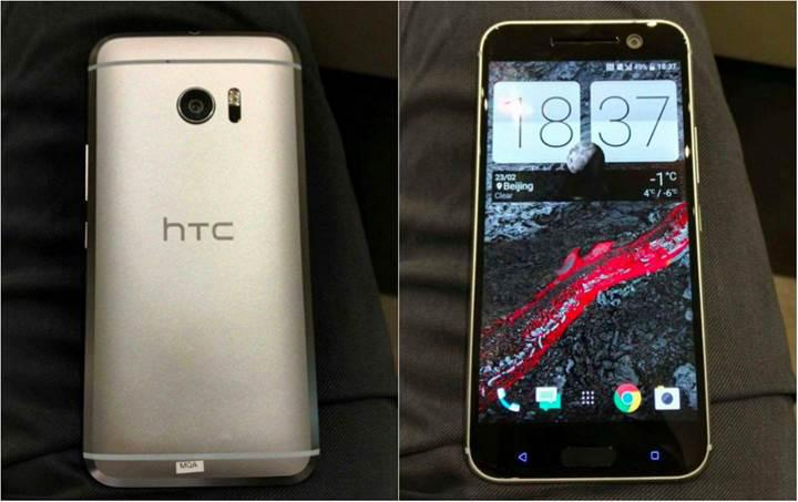HTC 10'un gerçek hayattan fotoğrafları sızdırıldı