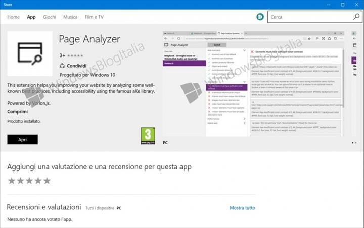 Microsoft Edge tarayıcısının ilk eklentisi ortaya çıktı