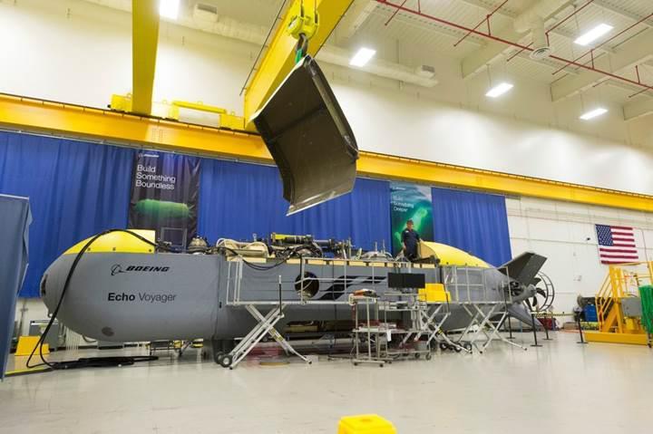 Boeing, insansız denizaltı aracı Echo Voyager'ı tanıttı