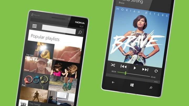Spotify Windows Phone'a destek vermeyi durdurmayacak