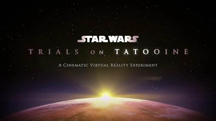 Star Wars: Trials Of Tatooine sanal gerçeklik deneyimi sunacak