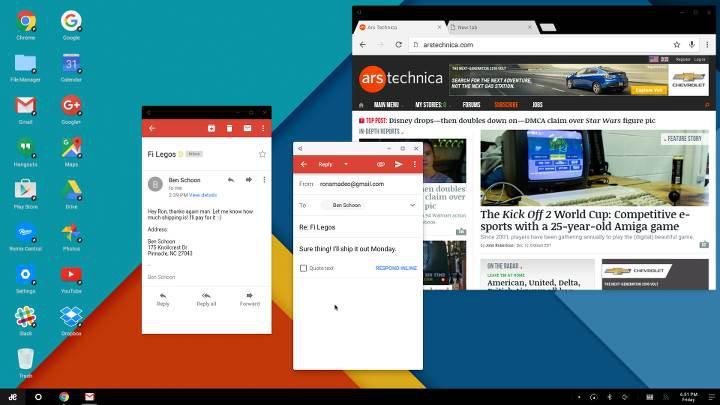 Android N sürümünde çoklu pencere desteği ortaya çıktı