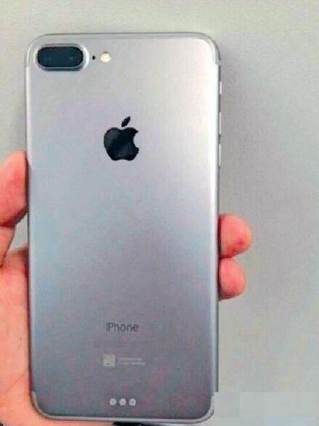 iPhone 7 Plus modelinin olası ilk fotoğrafı ortaya çıktı