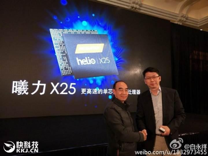Meizu Pro 6 özel MediaTek Helio X25 çipsetiyle geliyor