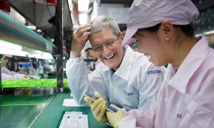 iPhone 7 şimdi de Foxconn fabrikasında göründü
