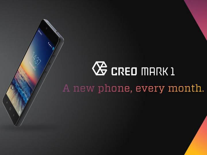 Creo Mark 1, size her ay yeni bir akıllı telefon sözü veriyor
