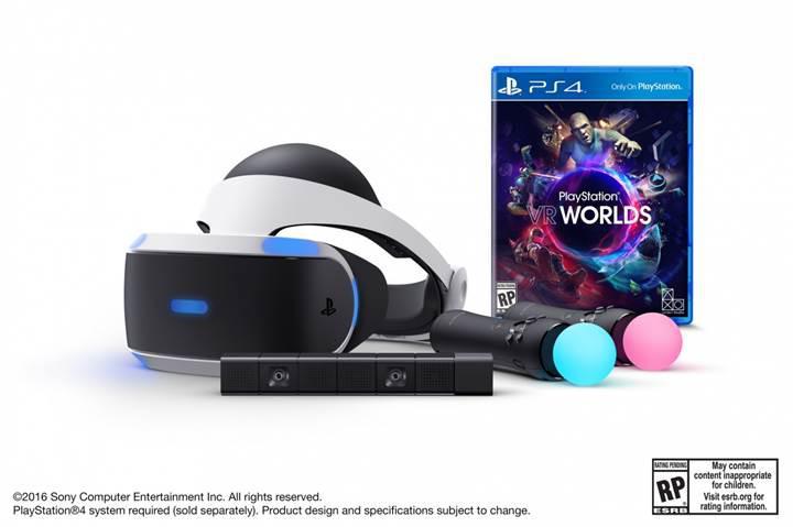 Sony'nin yeni PlayStation VR paketi belli oldu