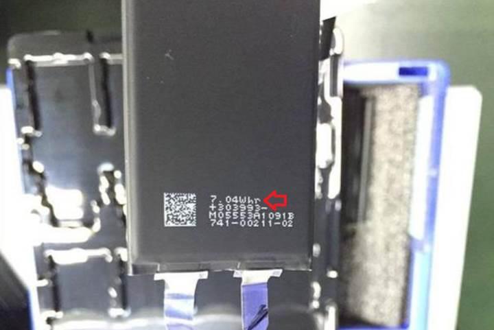 iPhone 7'nin pil kapasitesi ve seramik gövdesi ortaya çıktı