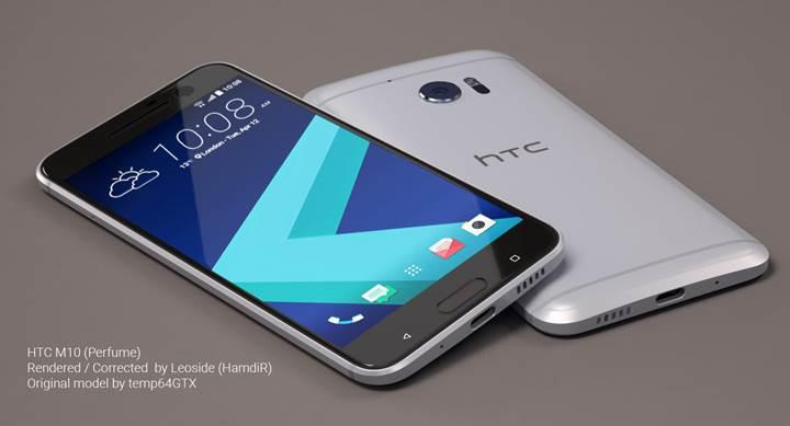 HTC 10, Super LCD 5 ekran ve 3000 mAh kapasiteli pille gelecek