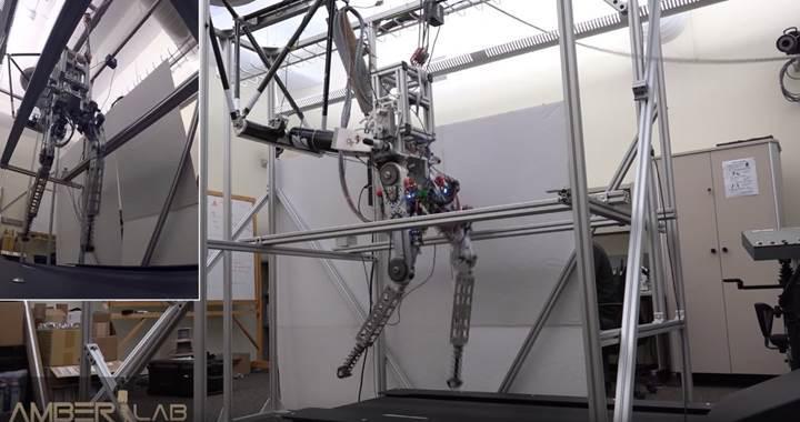 İnsan gibi koşabilen robot: DURUS-2D