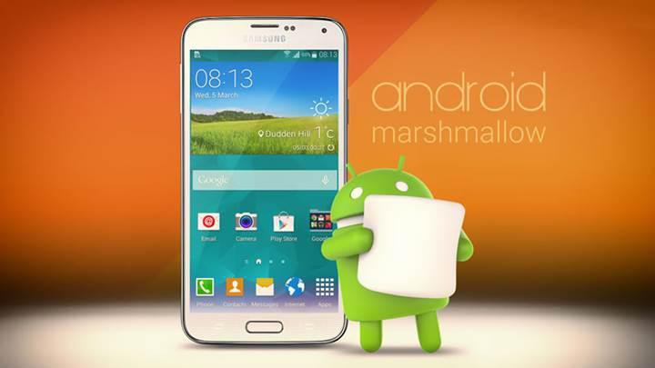 Samsung Galaxy S5 için Android Marshmallow güncellemesi başladı