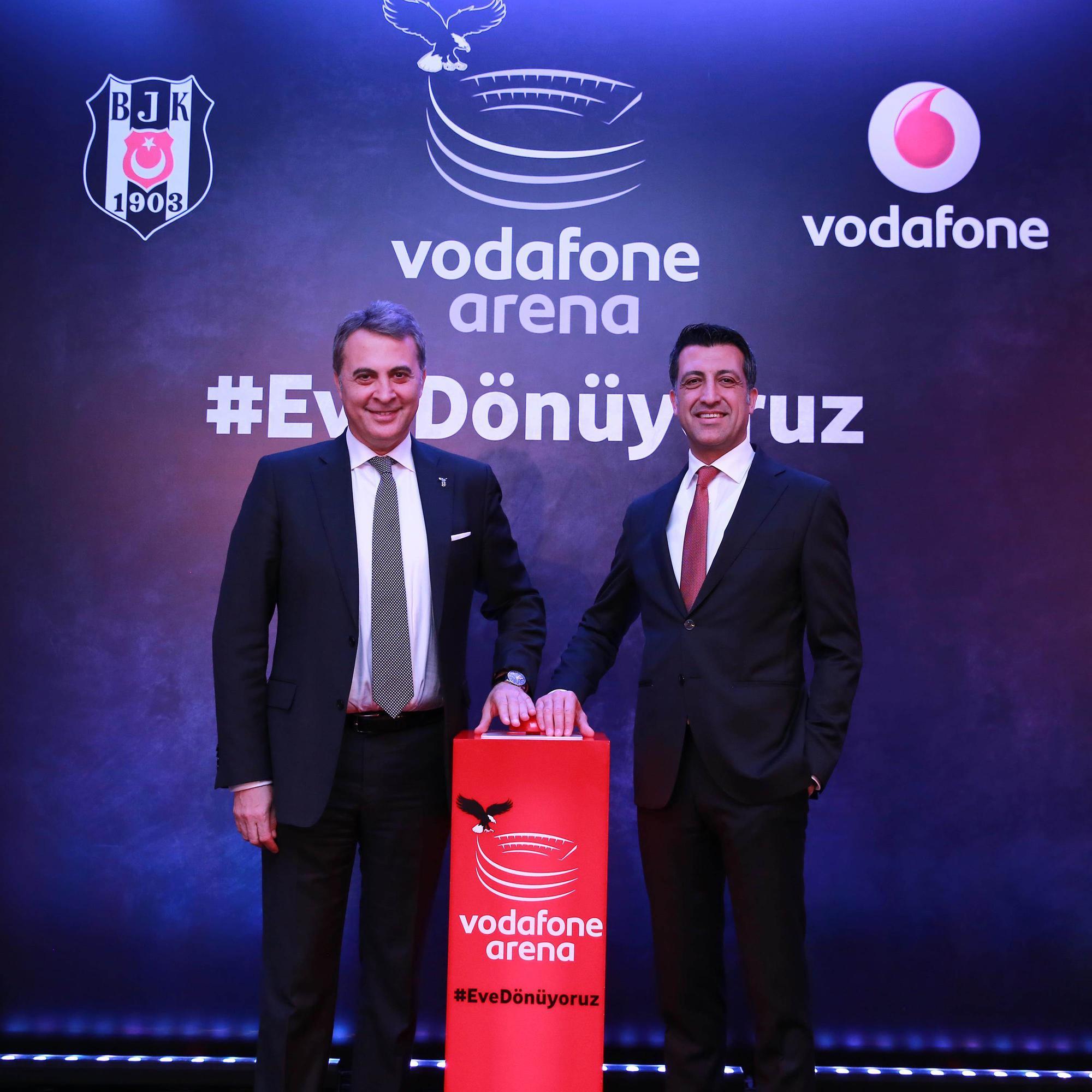 Vodafone Beşiktaş'ın yeni stadında sunacağı 4.5G deneyimi ile de çok iddialı