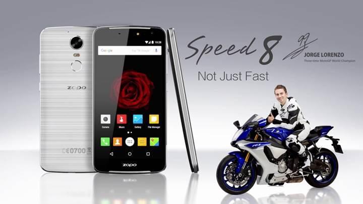 Dünyanın ilk 10 çekirdekli akıllı telefonu ZOPO Speed 8 ön siparişe hazır