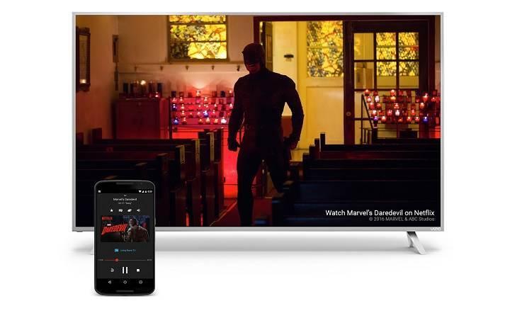 Chromecast uygulamasının adı artık Google Cast