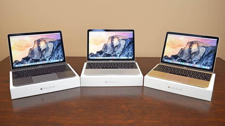 Apple'ın yeni 13inç ve 15inç MacBook'ları 12inçlik MacBook'a benzer olabilir