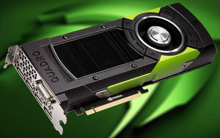 Nvidia Quadro M6000, 24GB GDDR5 bellek ile güncellendi