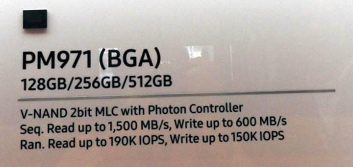 Samsung'dan Polaris kontrolcülü yüksek hızda SSD ürünleri