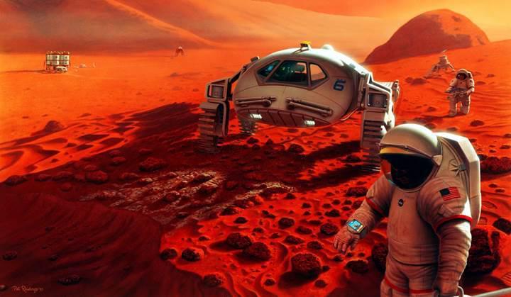 Ruslardan çılgın plan: Mars yolculuğunda nükleer destek
