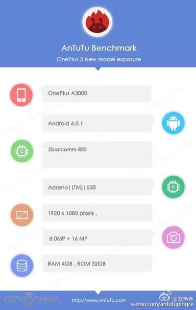OnePlus 3'ün çıkış tarihi ve donanım özellikleri sızdırıldı