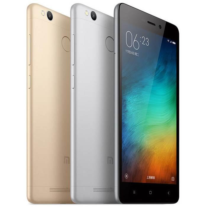 Yeni fiyat-performans telefonu Xiaomi Redmi 3 Pro duyuruldu