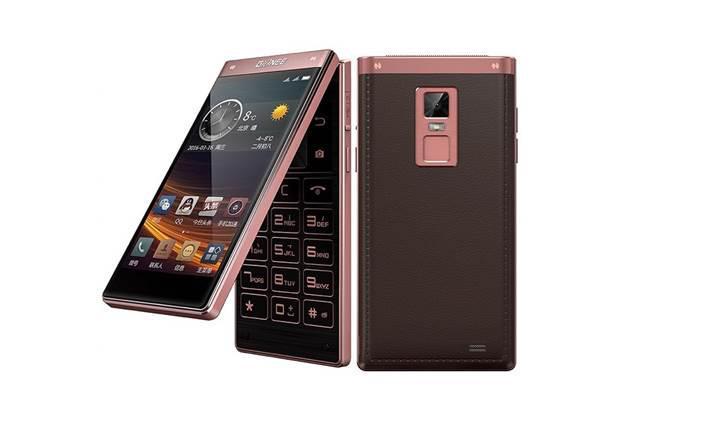 Gionee'den çift ekranlı ve kapaklı Android telefon W909