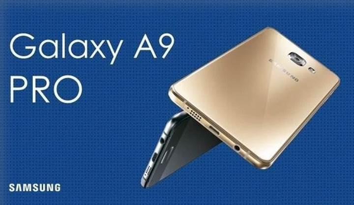 Samsung Galaxy A9 artık Pro
