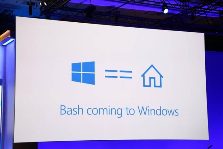 Microsoft ve Canonical Linux Bash kabuğunu Windows 10'a getiriyor