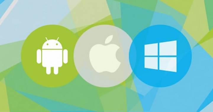Android'in pazardaki hakimiyeti artarken Windows Phone istikrarını sürdürüyor