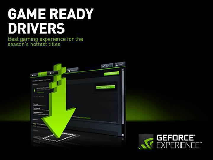 Son Nvidia GameReady sürücüleri sıkıntılı