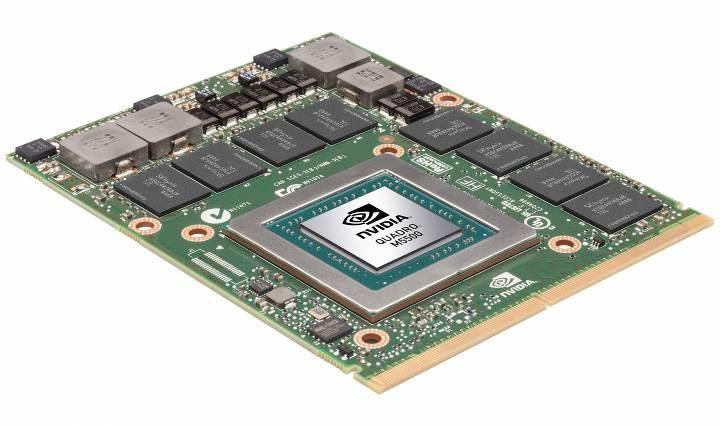 Nvidia'dan mobil iş istasyonlarına Quadro M5500 desteği