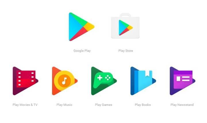 Google yeni Google Play simgelerini duyurdu