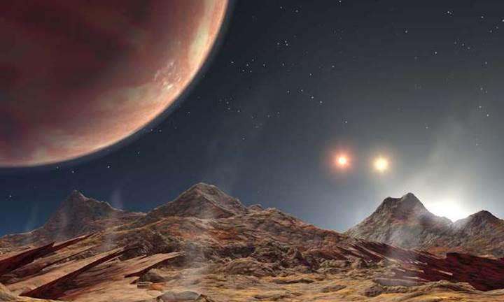 Bu gezegenin gökyüzünde üç tane Güneş'i var