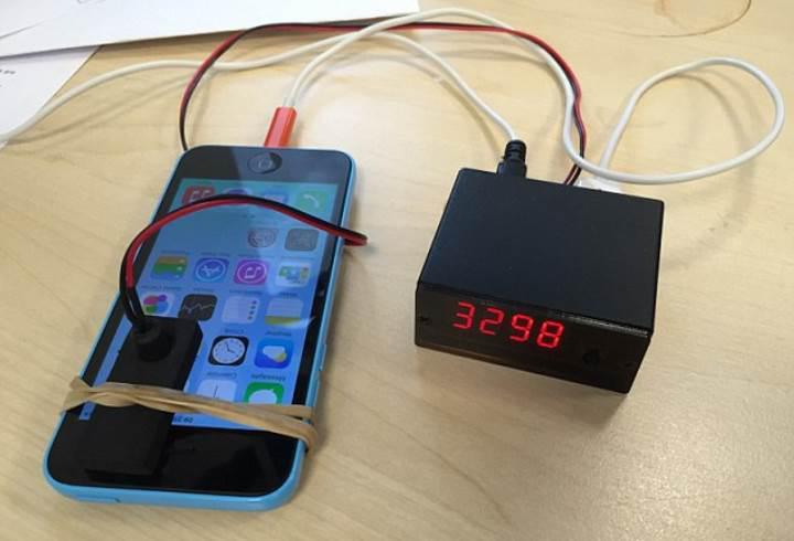 Bu cihaz ile iPhone şifreleri kolayca kırılabiliyor