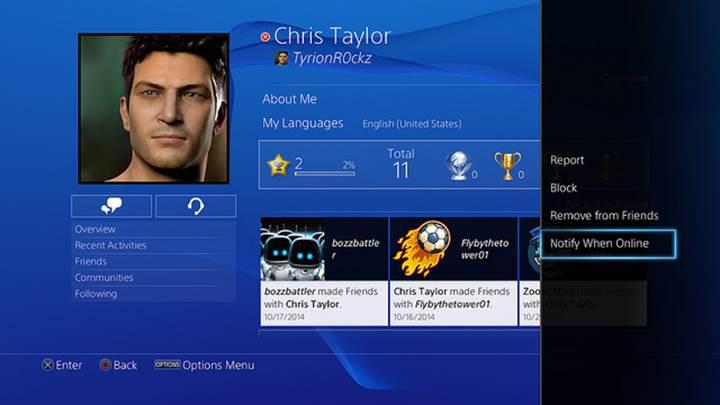 Sony'nin büyük PlayStation 4 firmware güncellemesi yarın yayınlanıyor