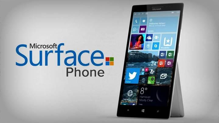Microsoft Surface Phone 2017'de üç farklı modelle piyasada olabilir
