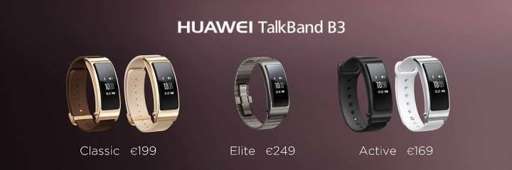 Huawei TalkBand B3 duyuruldu