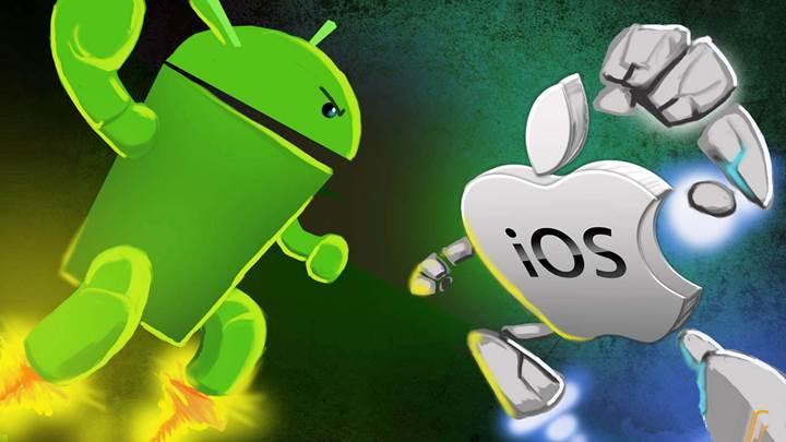 iOS zayıf iPhone 6S satışları nedeniyle Android'le savaşını kaybediyor