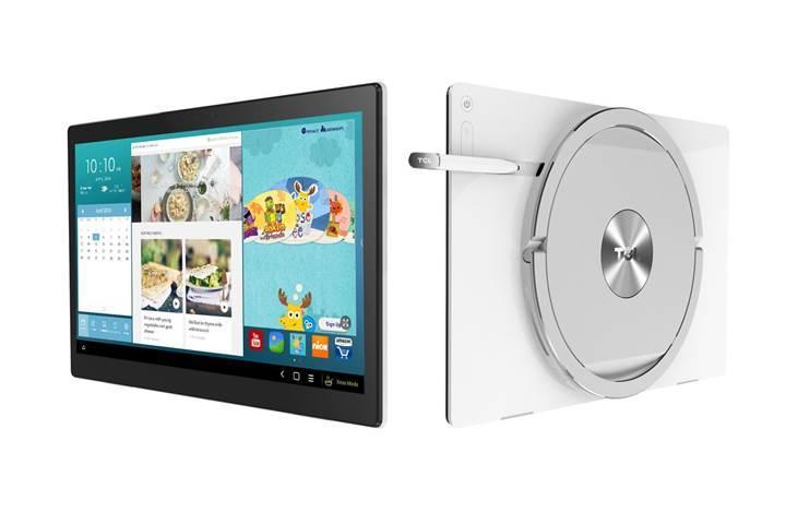 Alcatel ve TCL'den 17 inçlik dev mutfak tableti geliyor