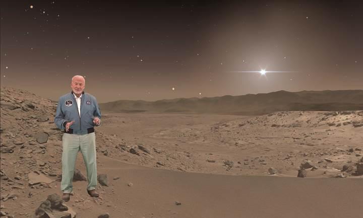 Mars'ta sanal bir yolculuğa çıkmak ister misiniz?