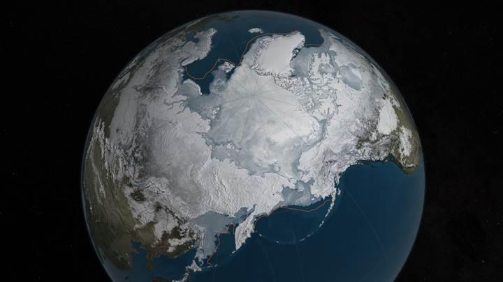 İklim değişikliği: Buzul seviyesi rekor düzeylere geriledi