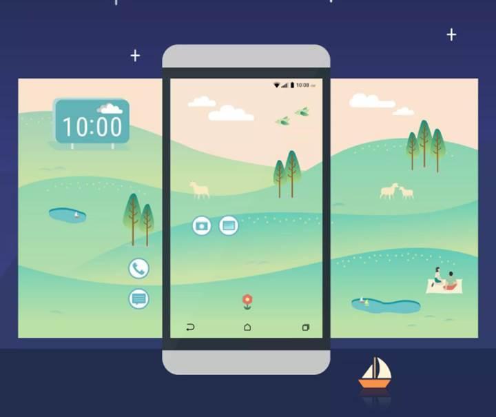 HTC Sense 8 yeni bir tasarım konsepti ile geliyor